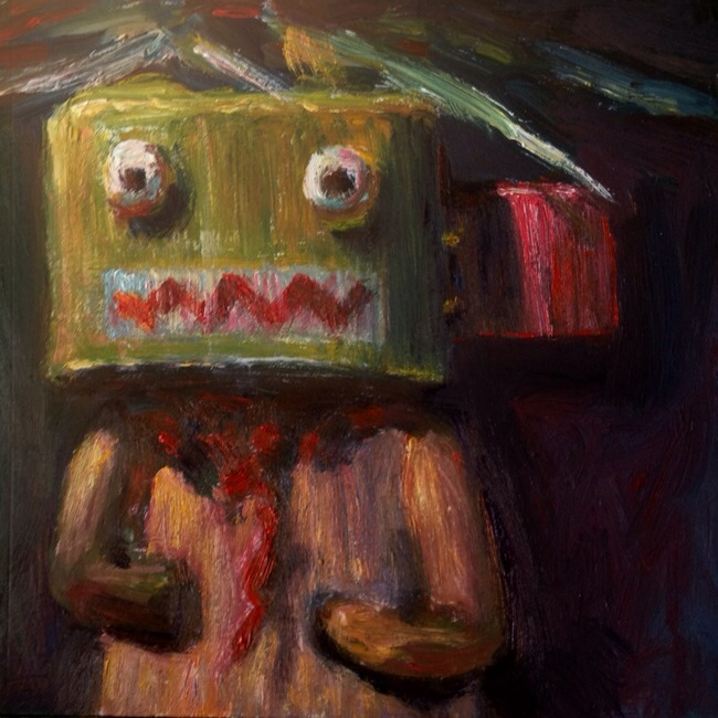 OGRE KATSINTIHU _ Daily Painting #951